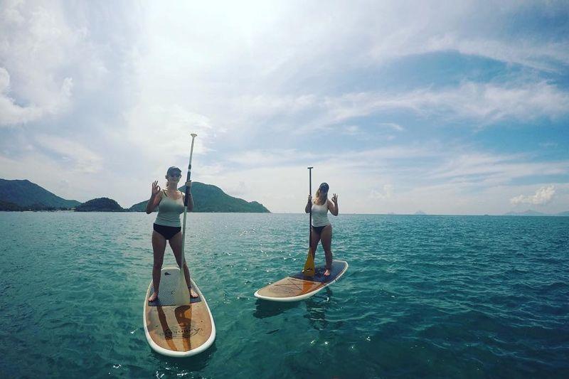 Chèo thuyền Kayak tại Vịnh Ninh Vân Nha Trang