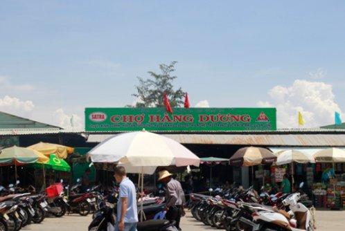 Chợ hải sản ở Cần Giờ