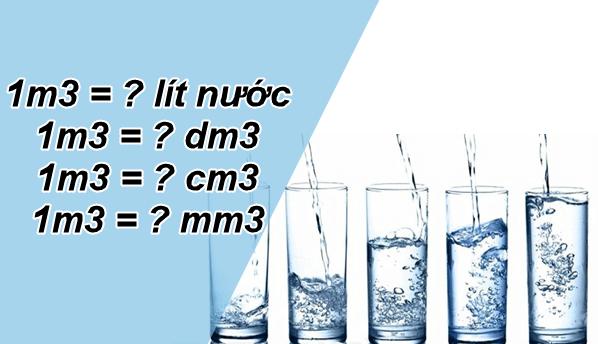 Chuyển Đổi 1 m3 (Khối ) Bằng Bao Nhiêu Lít, Dm3, Cm3, Mm3 1