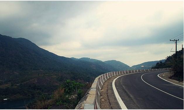 Cung đường quốc lộ 55 đi Mũi Né