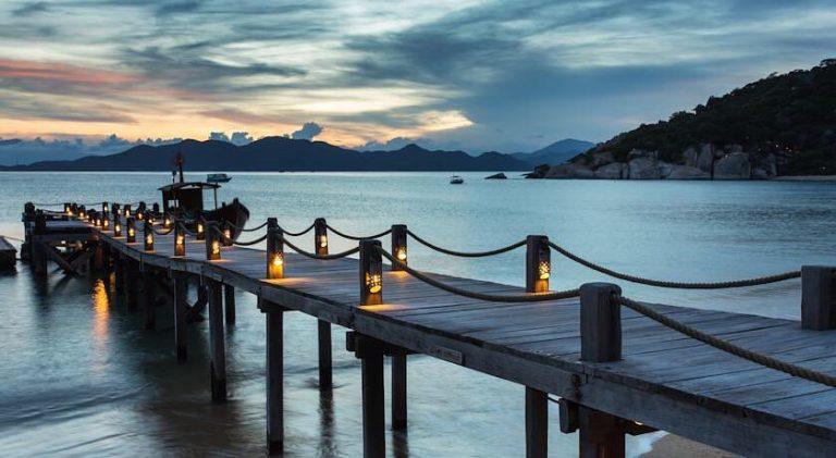 Khung cảnh Vịnh Ninh Vân Nha Trang