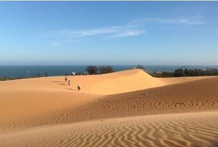 Những đồi cát bay tại Mũi Né