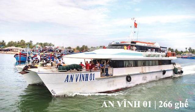 Tàu An Vĩnh 01 - 266 ghế