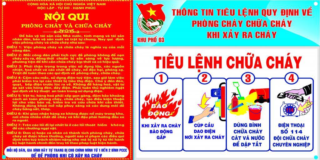 tiêu lệnh chữa cháy là gì?