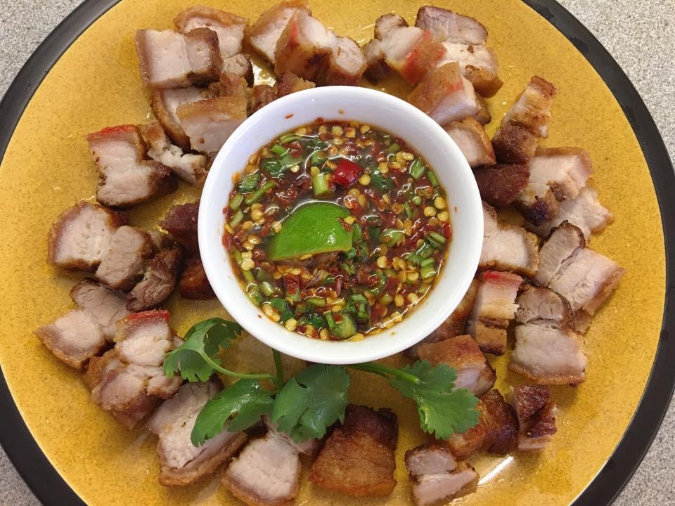 Cách làm món ăn ba rọi nướng kiểu Thái
