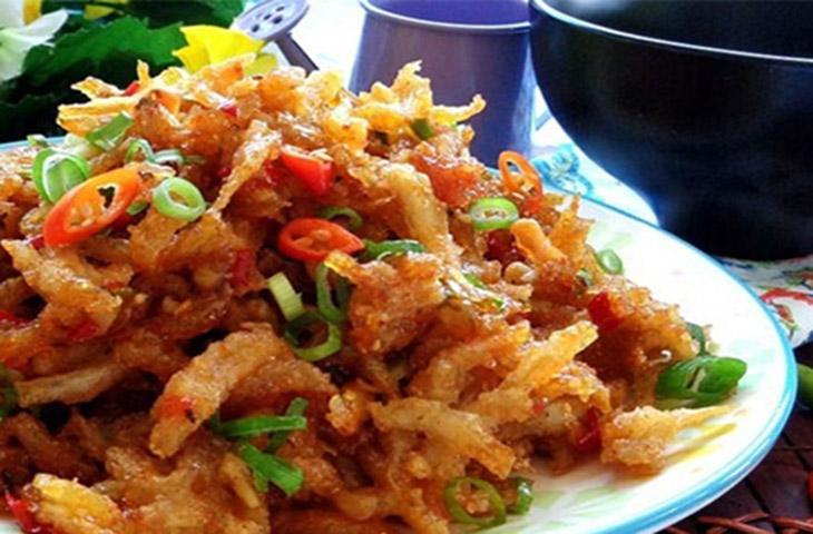cá cơm chiên tỏi ớt thơm ngon hấp dẫn