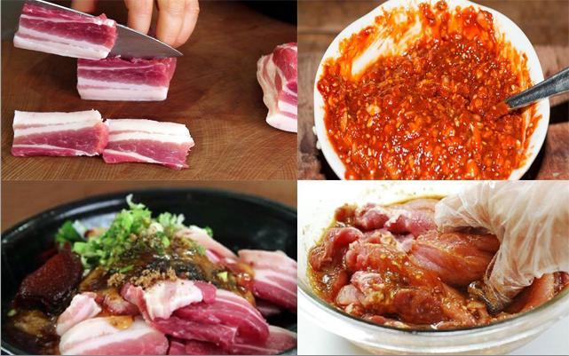 Cách ướp thịt lợn nướng