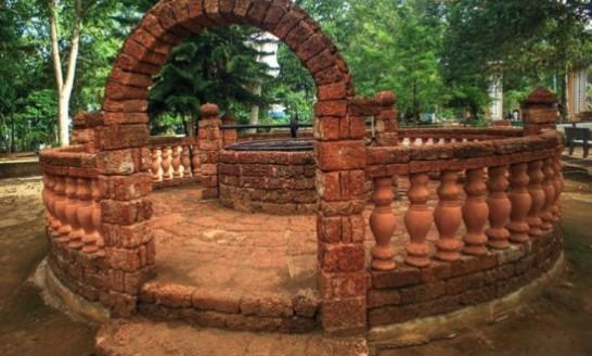 Giếng Phật chùa Thiên Ấn Quảng Ngãi