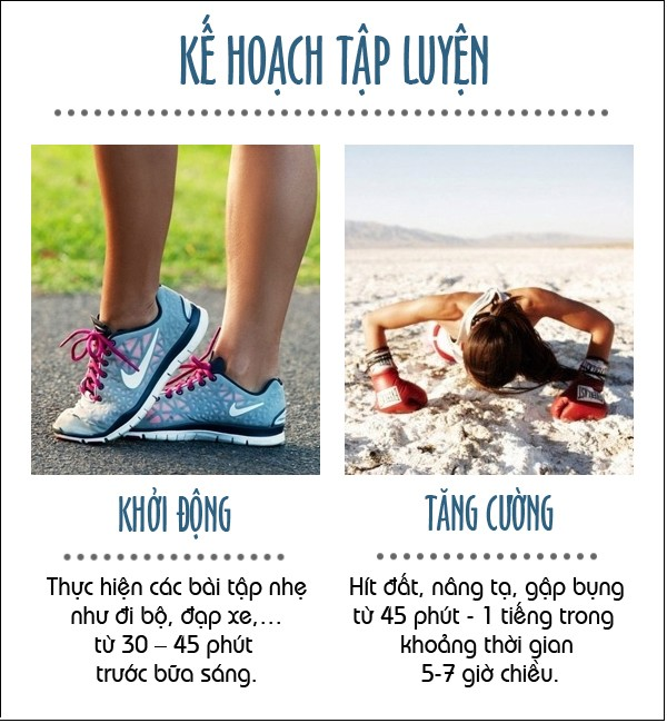 luyện tập giúp giảm cân