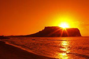 Mặt trời mọc hướng nào