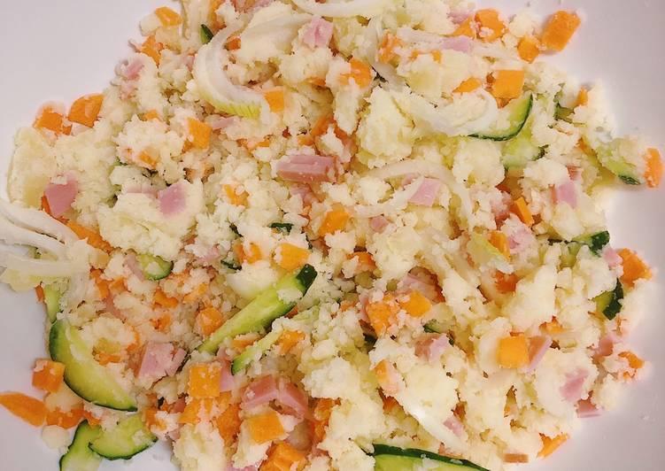 salad khoai tây kiểu Nhật
