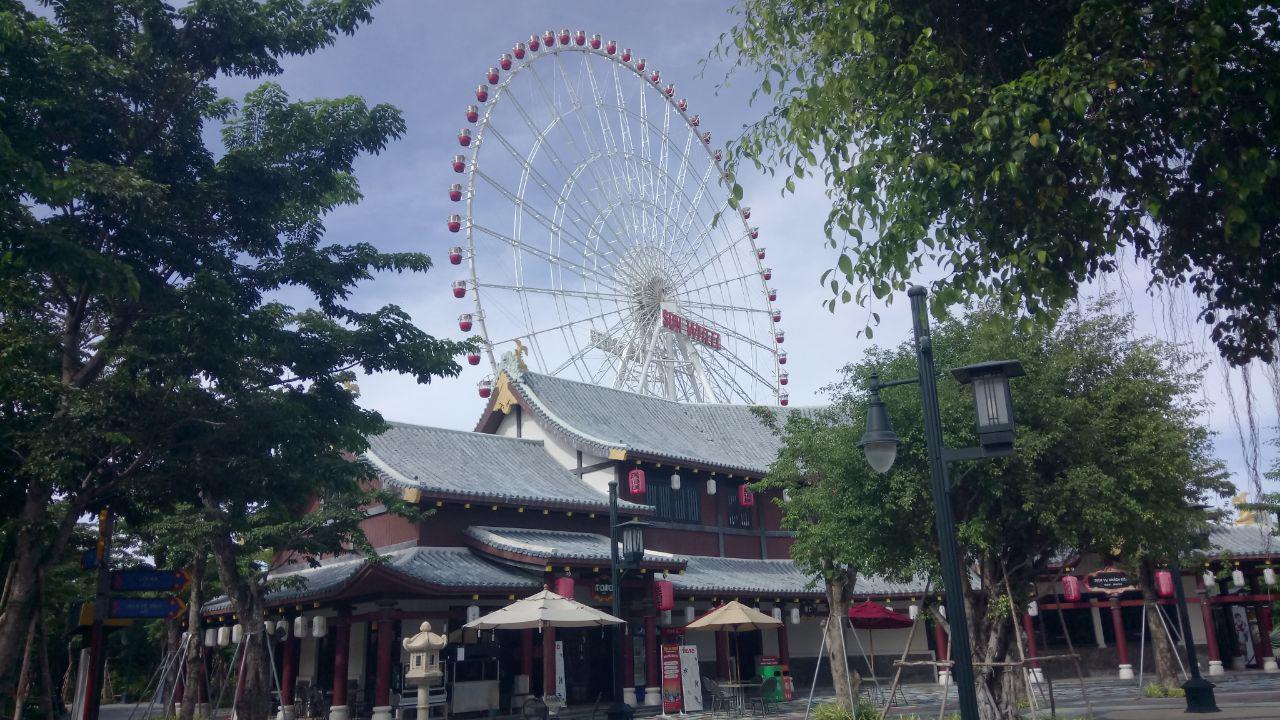 Vòng Quay Mặt Trời Công Viên Châu Á Sun Wheel