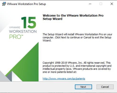 b1 cài đặt vmware workstation 15