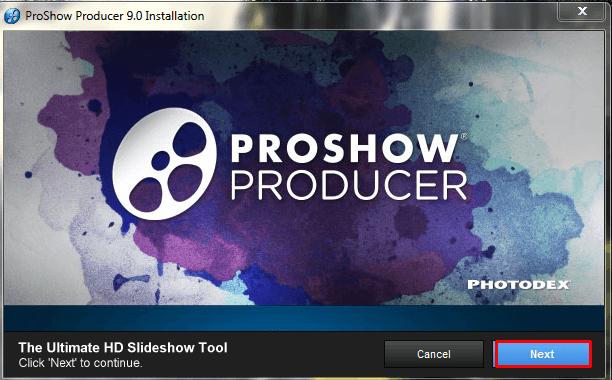 b1 cài đặt proshow producer