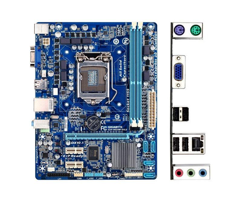 Main H61 chạy được với Chip và CPU nào 10
